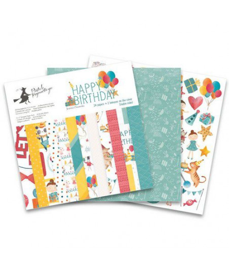 PIATEK - Happy Birthday - 12x12  Pad Collection Kit