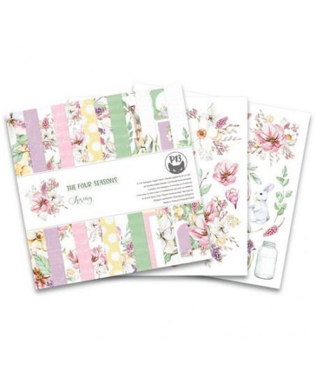 PIATEK13 - Paper pad The Four Seasons - Spring 6x6