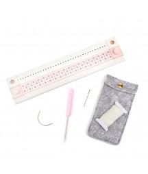 WE R MEMORY KEEPERS - Pink Paislee book binding tool
