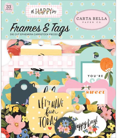 CARTA BELLA - Oh Happy Day - Frames & Tags