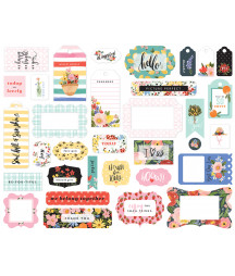 CARTA BELLA - Oh Happy Day - Frames & Tags