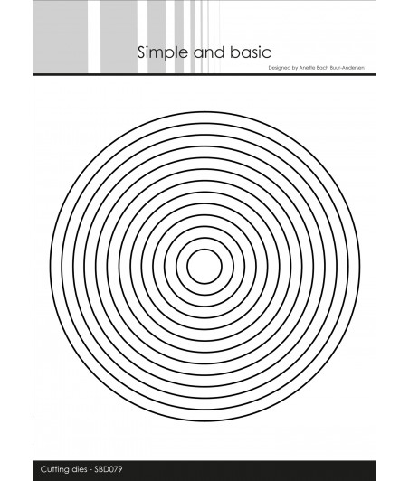 SIMPLE AND BASIC -  Circles Dies