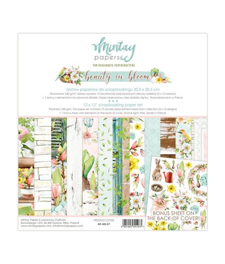 """MINTAY BY KAROLA -  Beauty in Bloom 30x30 cm (12""""x12"""")"""
