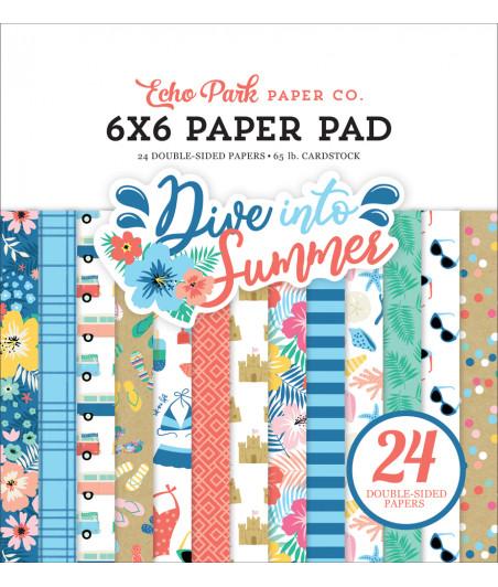 ECHO PARK - Dive Into Summer - 6x6 Paper Pad
