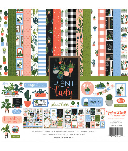 ECHO PARK - Plant Lady - 12x12 Inch Collection Kit