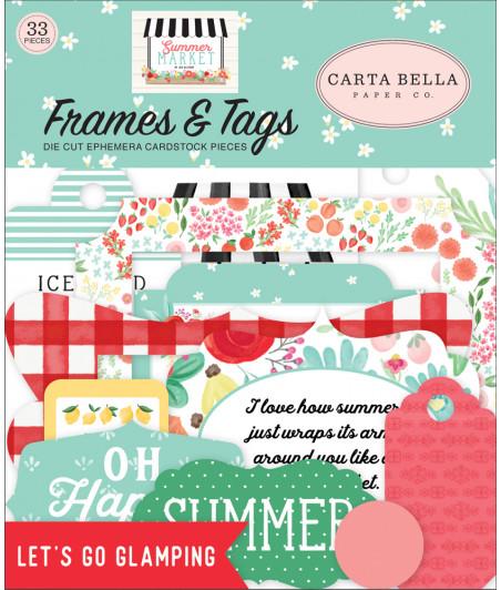CARTA BELLA - Summer Market - Frames & Tags