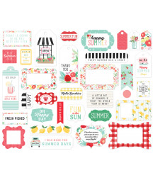 CARTA BELLA - Summer Market - Frames & Tags
