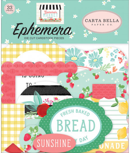 CARTA BELLA - Summer Market - Ephemera