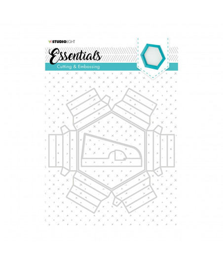 STUDIO LIGHT - Embossing die cut Essentials nr.271
