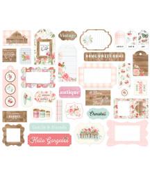 CARTA BELLA - Farmhouse Market  - Frames & Tags