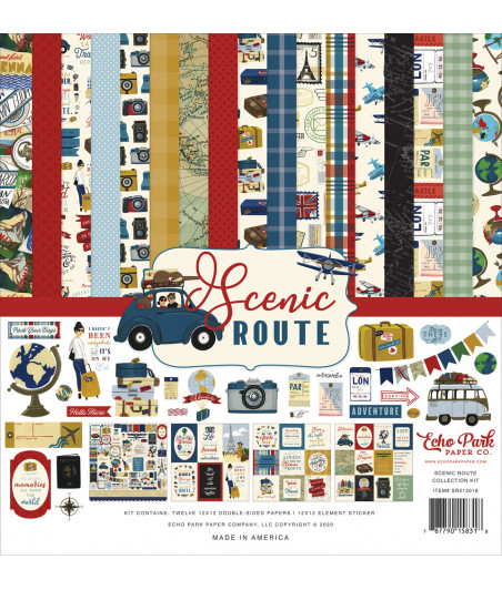 ECHO PARK - Scenic Route - 12x12 Inch Collection Kit