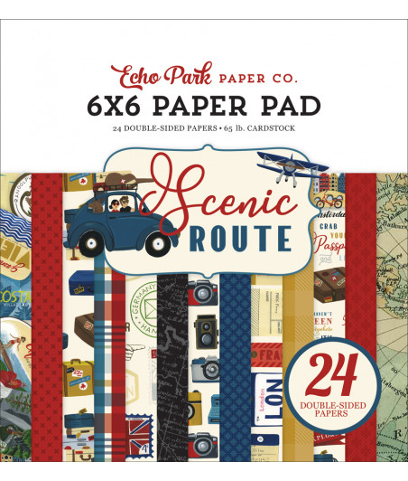 ECHO PARK - Scenic Route - 6x6 Paper Pad