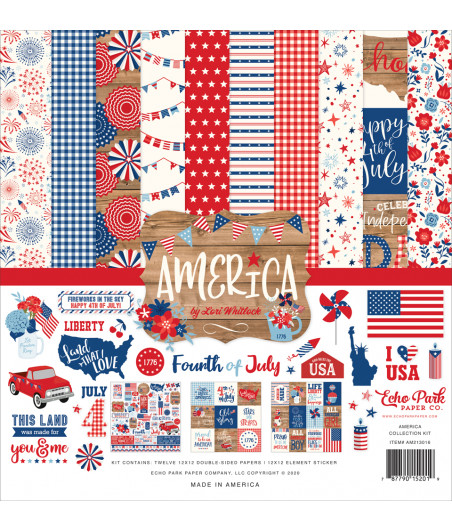 ECHO PARK - America - 12x12 Inch Collection Kit