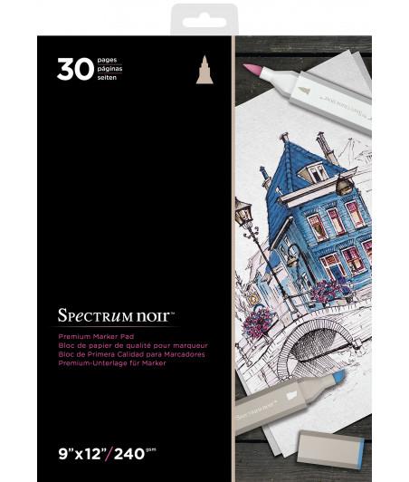 "SPECTRUM NOIR - Premium Marker Pad 9""X12"""