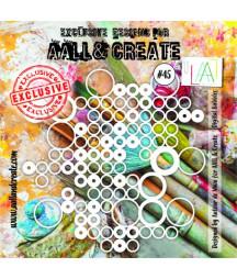 AALL & CREATE - Stencil 45...