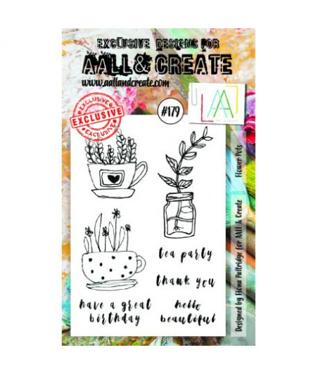 AALL & CREATE - Stamp Set - 179 by Fiona Paltridge - Stamp A6