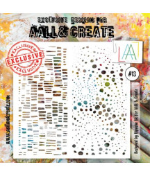 AALL & CREATE - Stencil 13...