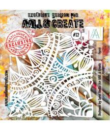 AALL & CREATE - Stencil 32...