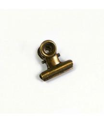 Pince clip bronze vieilli 5...
