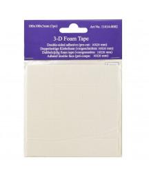 3-D foam tape 100x100x3mm...