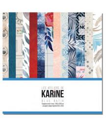KARINE - Blue Batik...