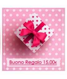 BUONO REGALO 15