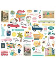 SIMPLE STORIES - Going Places - Bits & Pieces