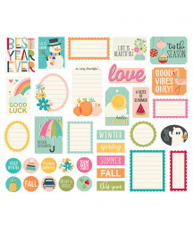 SIMPLE STORIES - Best Year Ever Journal - Bits & Pieces
