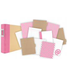 SIMPLE STORIES - Album 6x8 - Snap! - Binder Pink