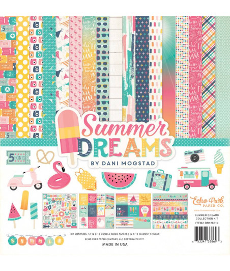 ECHO PARK - Summer Dreams - 12x12  Pad Collection Kit