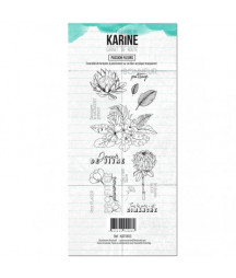 KARINE - Clear Stamp Carnet...