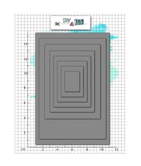 DIY&CIE - Dies Bazik Cards PL- DIY and Cie