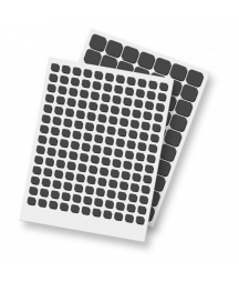 SCRAPBOOK ADHESIVE - Thin 3D Foam Squares Black Mix - 2mm