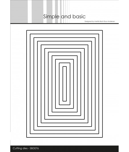 SIMPLE AND BASIC - Box 1 Dies