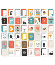 SIMPLE STORIES - Cat SN@P! 3x4 Cards