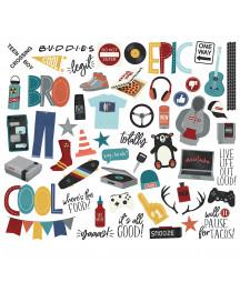 SIMPLE STORIES -  Bro & Co Bits & Pieces