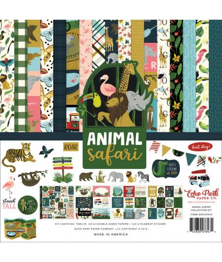 ECHO PARK -  Animal Safari - 12x12  Pad Collection Kit