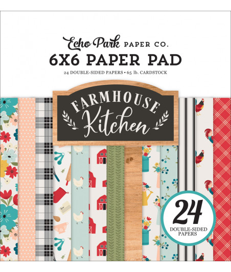 ECHO PARK - Farmhouse Kitchen 6x6 Inch Paper Pad