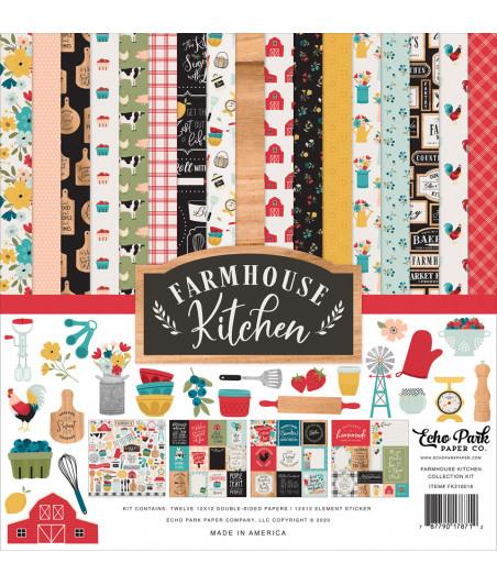 ECHO PARK - Farmhouse Kitchen - 12x12  Pad Collection Kit