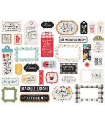 ECHO PARK - Farmhouse Kitchen Frames & Tags