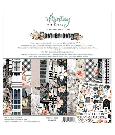 MINTAY BY KAROLA - Day By Day  - 12x12  Pad Collection Kit