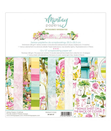 MINTAY BY KAROLA - Better Times - 12x12  Pad Collection Kit