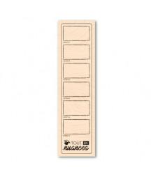 KARINE - Woodblock stamp...