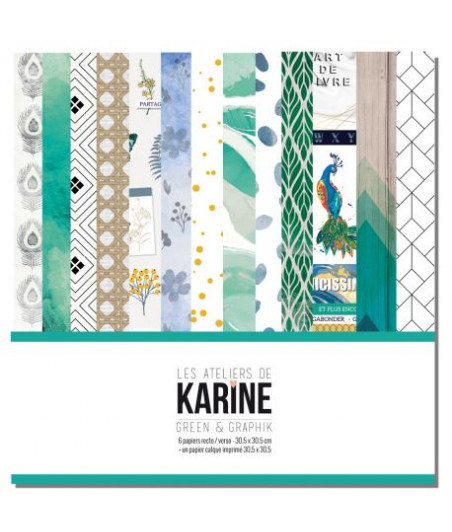 KARINE - Green&Graphik 6f set 12x12