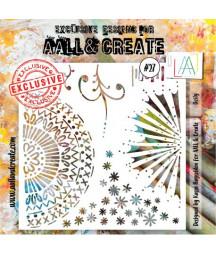 AALL & CREATE - Stencil 27