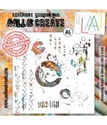 AALL & CREATE - Stencil 6