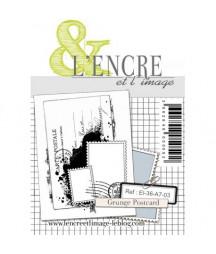 & L'ENCRE - Grunge Postcard