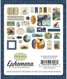 CARTA BELLA -  Dinosaurs - Ephemera