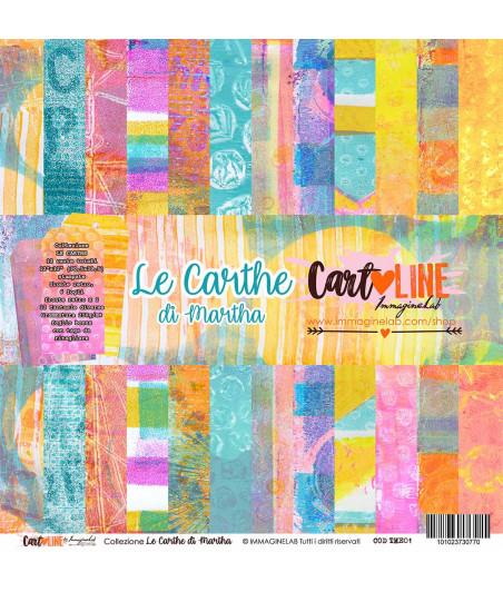 CartoLINE - Le Carthe di Martha by Crafting Martha 12''x12''