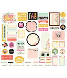 SIMPLE STORIES - Kate & Ash - Bits & Pieces